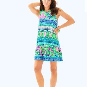 Lilly Pulitzer Gabriella Dress Beaded Back Sz M
